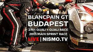Blancpain GT Series - Budapest - 2016 -GARAGE CAM