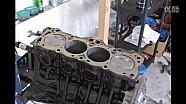 丰田4age 16v发动机组装全过程