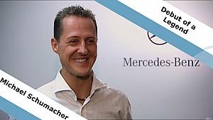 The Debut of a Legend - Michael Schumacher