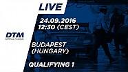 DTM Budapeşte 2016 - 1. Yarış Sıralama Turları