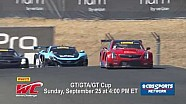 PWC 2016 GT/GTA/GT Cup Sonoma Raceway CBSSN Promo