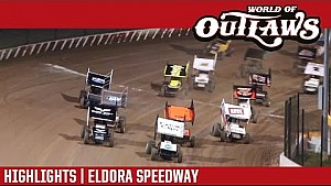 World of Outlaws Craftsman Sprint Cars Eldora Speedway September 23rd, 2016 | Highlights