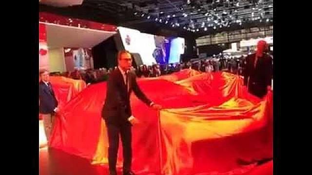 The Ferrari world premiere live from the Paris Motor Show 2016!
