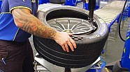 Inside Formula E: шини Michelin