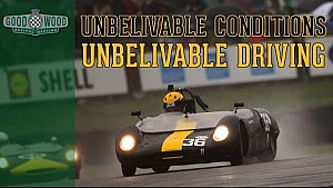 Unbelievable Control: On Board Epic Wet Weather Lotus Race!