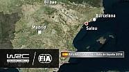 Rally de España 2016: Las 19 etapas