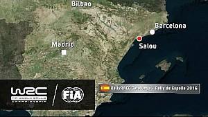Rally de España 2016: The 19 Stages