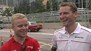 GT meets F3 – Rosenqvist and Engel talk Macau Grand Prix