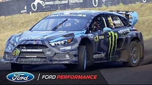 Focus RS RX in Estering | FIA World Rallycross | Ford Performance