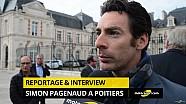 Reportage - Simon Pagenaud de retour à Poitiers !