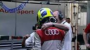 Emotion at Bahrain qualifying!