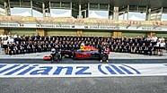 So entsteht ein F1-Teamfoto
