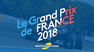 Le Grand Prix de France de F1 de retour en 2018