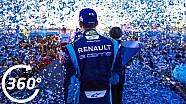 ePrix di Marrakech: il podio a 360°