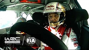 Rallye Monte-Carlo 2015: Onboard with Loeb SS13