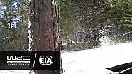 Ралі Монте-Карло. Аварія Хяннінена на СД5