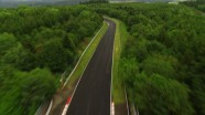 Renault Sport F1 drivers negotiate the Nordschleife