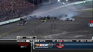 Stewart Wins and Misses Wreck - Daytona - 07/07/2012