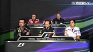 Sky Sports Formula 1 2012 - 13 Italian GP - Team Principles' Conference