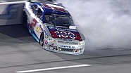Points leader Elliott Sadler wrecks