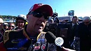Kevin Harvick 'Punk Ass Kids' reaction to Dillon | Martinsville NASCAR Camping World Truck Series