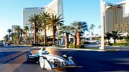 Formula E car drives Las Vegas Strip - FULL HD VERSION