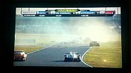 2014 24hr Daytona Matteo Malucelli and Memo Gidley 100mph+ crash