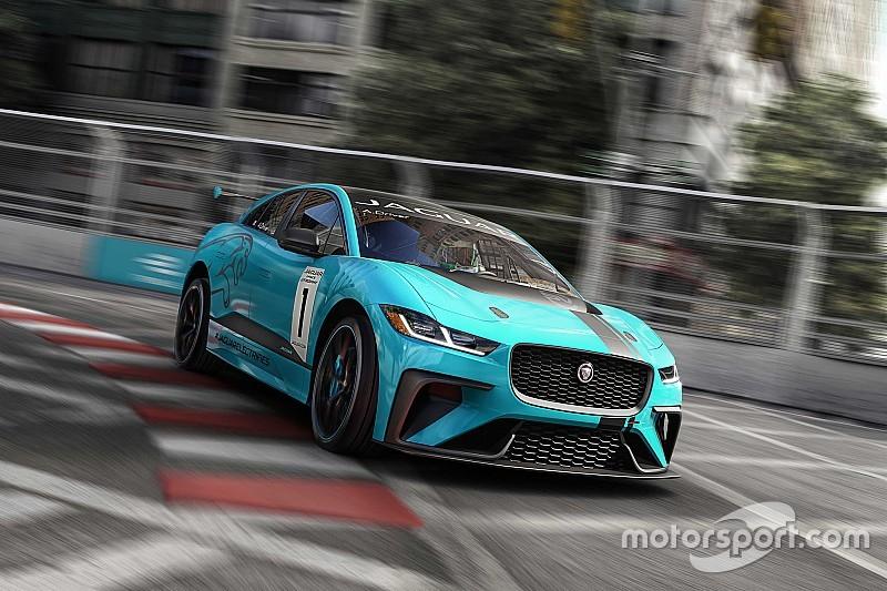 Jaguar lança categoria elétrica para preliminar da Fórmula E