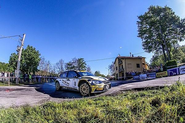 IRC Pirelli: Luca Rossetti ancora primo al Rally del Taro