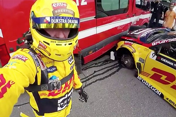 WTCC Noticias de última hora El video del accidente de Tom Coronel de 25 fuerzas G