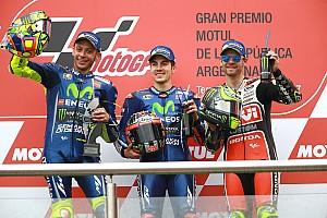 MotoGP Репортаж з гонки Гран Прі Аргентини: Віньялес виграв, Маркес впав