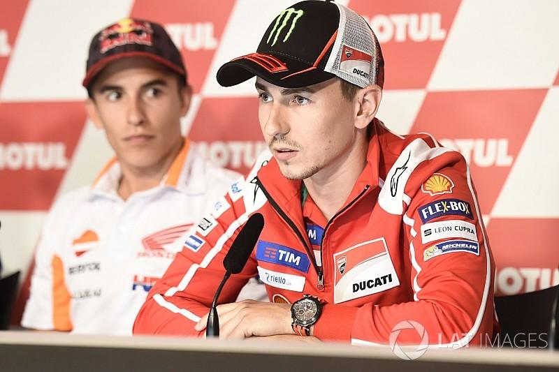 """Lorenzo: """"Si yo no puedo ser campeón, me encantaría que lo fuera Dovizioso"""""""