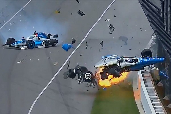 IndyCar Noticias de última hora Dixon y Howard salen indemnes de un terrible accidente en Indianápolis
