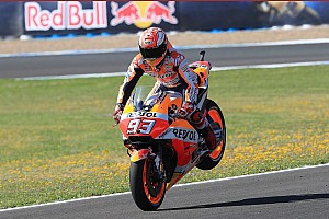 MotoGP Declaraciones Márquez cree que puede ganar en España desde la segunda fila