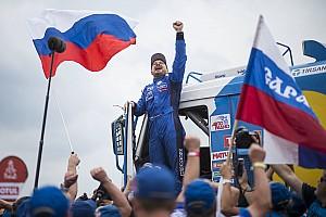 Дакар Отчет о гонке Николаев в третий раз выиграл «Дакар»