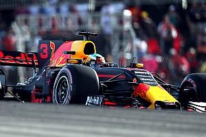Red Bull in Austin: Ricciardo unwissend, Verstappen mit Fehlern