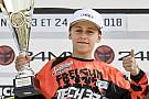 Elite MX Maxime Grau décroche sa première victoire en Espoirs 85cc