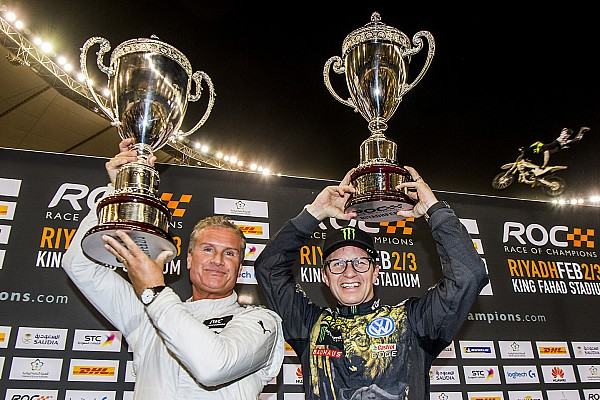 Race of Champions: Coulthard defeats Solberg to earn title