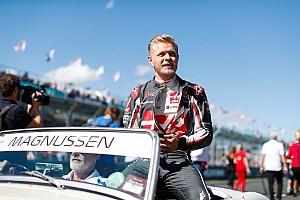 Danimarka'da yılın pilotu Magnussen seçildi