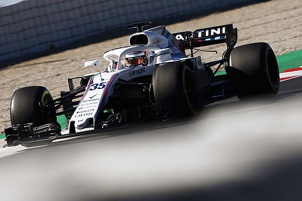 Fotogallery: la Williams FW41 nei Test 2 di F.1 a Barcellona