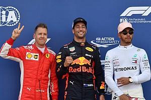 La grille de départ du GP de Monaco