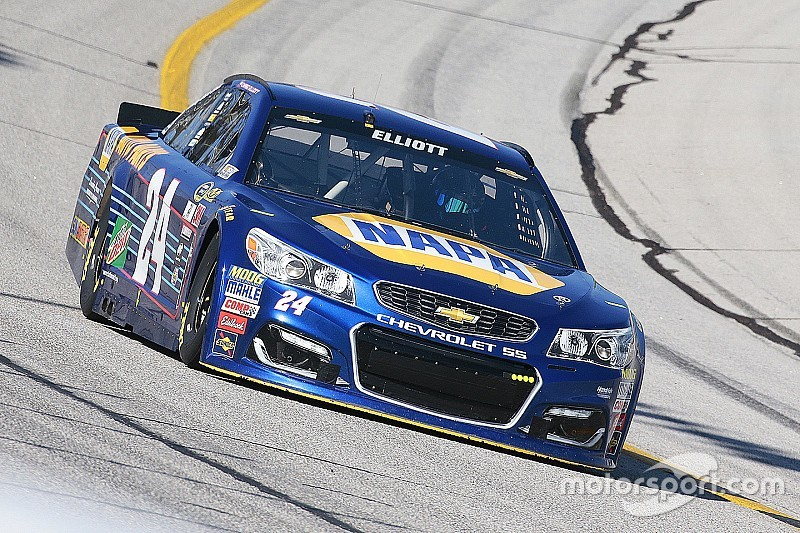 """Chase Elliott scores strong finish, but """"wore out"""" after tough Atlanta race"""