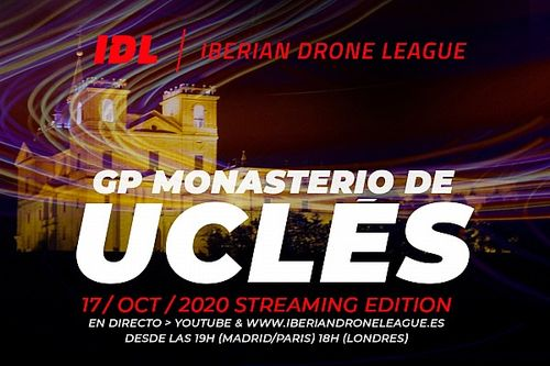 Streaming: ¡la Iberian Dron League desde Uclés!