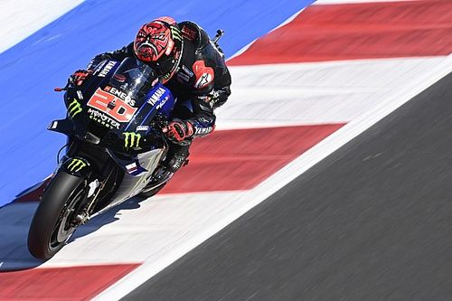 Hasil FP4 MotoGP San Marino: Quartararo Menangi Duel vs Rins dan Bagnaia