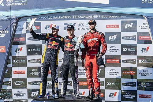 Timmy Hansen Senang Bisa Dominasi Rallycross bersama Adiknya