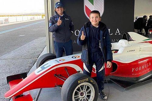エマーソン・フィッティパルディの息子エモJr.、デンマークF4で14歳にして4輪デビュー