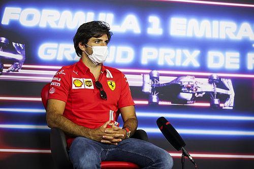 Sainz: En Francia volveremos a donde estábamos en Barcelona