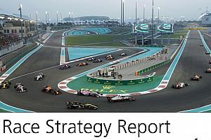阿布扎比策略报告:相同的进站策略如何带来不同结果