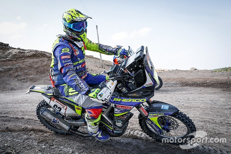 Dakar 2019, stage 6: Lead Sherco TVS rider crashes out