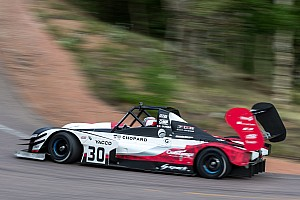 Hillclimb Qualifying report Romain Dumas on provisional pole at Pikes Peak !